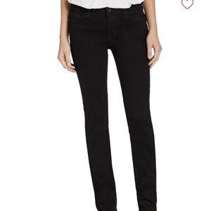 J Brand Jet black straight leg jeans. Size 29